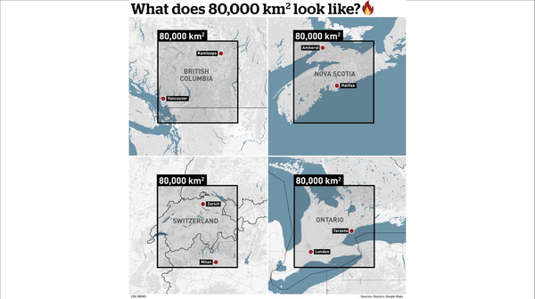 What Does eighty thousand KMs look like australia wildfire